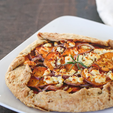 Sweet Potato and Feta Galette