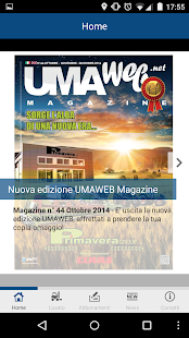 Umaweb - screenshot