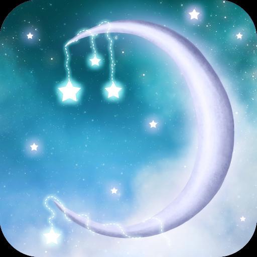 星光闪烁梦幻动态壁纸 IX LOGO-APP點子