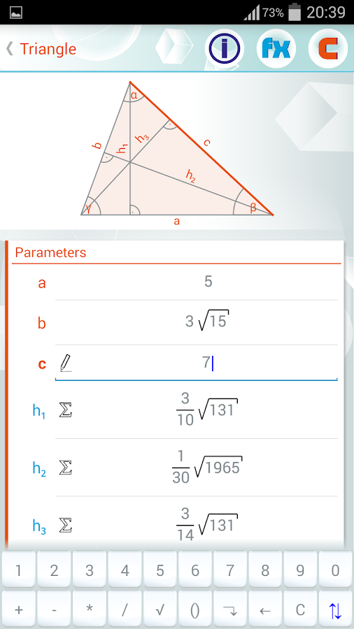 Geometry Solver Pro Screenshot 6