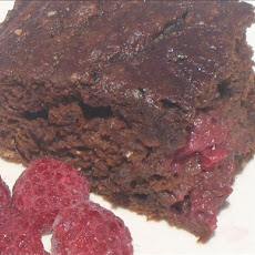 Low-Fat Raspberry Brownies for 1 or 2