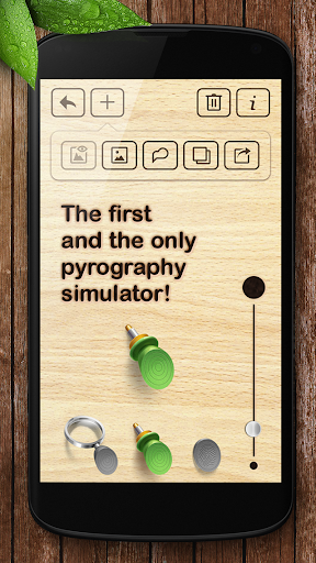 Pyrography - screenshot