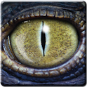 Dinosaur Eye Live Wallpaper