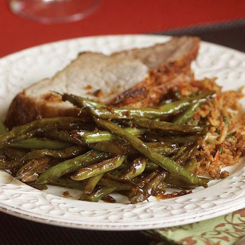 Chinese Restaurant-Style Sautéed Green Beans