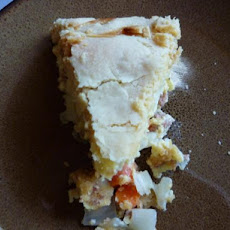 Italian Sausage Pie (Low Fat/Low Cholesterol)