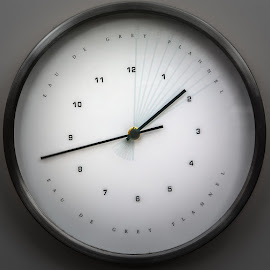 Transition of time! by Girish Pandit - Abstract Fine Art ( time, wall clock, clock, transition time, transition )
