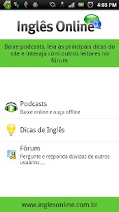 Inglês Online English Podcast - screenshot