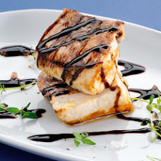 Grilled Swordfish With Fresh Thyme And Bertolli Italian Glaze With Balsamic Vinegar Of Modena