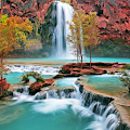 Waterfall 3D Live Wallpaper APK for Bluestacks