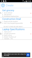 Screenshot of Simple Task Planner