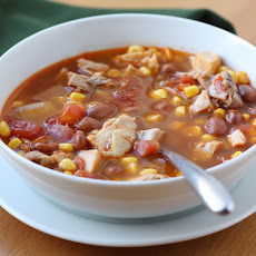 Ranch Style Chicken and Bean Soup