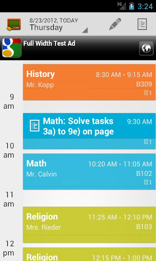 Pocket Schedule - Class Schedule, Homework Planner & School ...