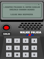 Screenshot of Walkie Policia