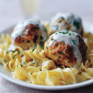 Super-Size Turkey Meatballs with Spinach and Cheese