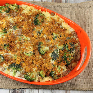 Turkey, Broccoli and Orzo Casserole