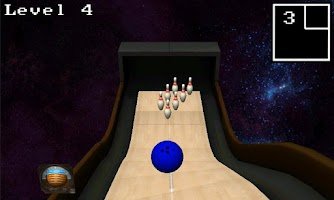 Screenshot of GRAVITY BOWLING LITE!
