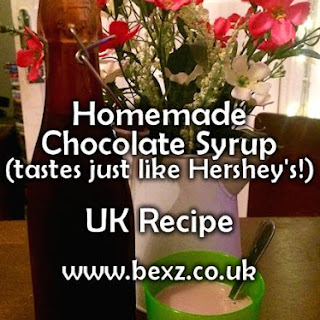 Chocolate Syrup UK Recipe – UK Hershey's Clone – Chocolate Milk (Milkshake)