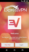 Screenshot of Express VPN