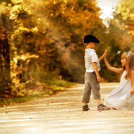 Fall.... In Love by Ela B - Babies & Children Children Candids (  )
