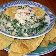 Mold and Mildew Dip Aka Spinach Artichoke Dip