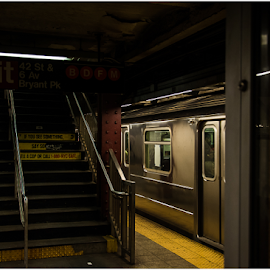 No. 7 by DeAndre Watkins - Transportation Other ( subway, 7, new york, underground )
