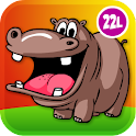 Zoo and Farm Animals for Kids icon