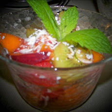 Tropical California Fruit Salad