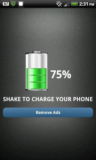 Shake Charge Battery PRANK PRO