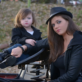 Biker Chic's by Scott Koukal - People Family