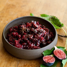 Fig Cranberry Sauce