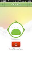 Screenshot of Nabby Baby Monitor
