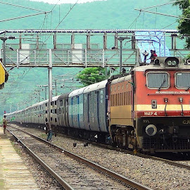 by Railfan Pragyan - Transportation Trains