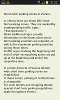 Screenshot of paperless.Parking - Vienna Pro