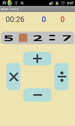Math Test 4