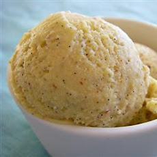 Easy Eggnog Ice Cream