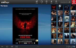 Screenshot of Cinemagia Tab - program TV