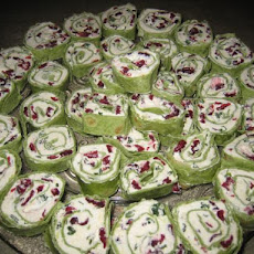Simple & Delicious Cranberry Cream Cheese Pinwheels