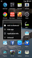 Screenshot of Scroll Launcher (open beta)