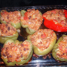 Boca Crumbles Vegetarian Stuffed Bell Peppers