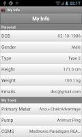 Screenshot of Glucose Buddy : Diabetes Log