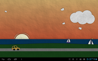 Screenshot of Paperland Pro Live Wallpaper
