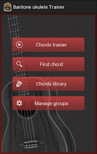 Baritone Ukulele Chords - screenshot
