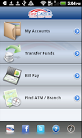 Screenshot of First Capital Mobile Banking