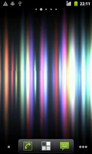 Shiny Stripes Live Wallpaper