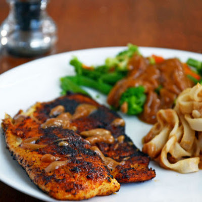 Spicy Blackened Tilapia