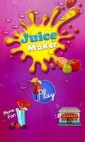Screenshot of Juice Maker