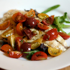 Dinner Tonight: Grilled Whitefish Salad with Tomatoes and Tarragon Vinaigrette