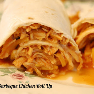 Barbeque Chicken Roll Ups (in the Crock Pot)