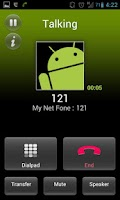 Screenshot of MyNetFone VoIP