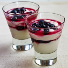 Low-Sugar Double Blueberry Yogurt Parfait